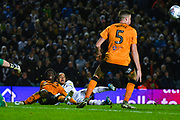 Leeds United forward Helder Costa (17) in action during the EFL Sky Bet Championship match between Leeds United and Hull City at Elland Road, Leeds, England on 10 December 2019.