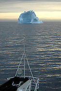 Icebergs from Greenland, drifting on Iceberg Alley. Baffin Bay.  Baffin Island. High Arctic. Canada&amp;#xA;( environment, global warming, ice, snow, white, blue, turquoise, inmense, mass, block, glacier, foggy, fog, ocean, arctic circle, winderness, view, trip, exploration, wild, scenic, scenics, seascape, tourist, cold<br />