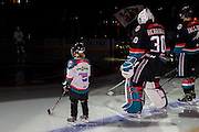 KELOWNA, CANADA - OCTOBER 26:  Pepsi Player of the game in the starting lineup at the Kelowna Rockets game on October 26, 2016 at Prospera Place in Kelowna, British Columbia, Canada.  (Photo By Cindy Rogers/Nyasa Photography,  *** Local Caption ***