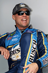 July 22, 2018 - Loudon, NH, U.S. - LOUDON, NH - JULY 22: Kevin Harvick, driver of the #4 during introductions before the Monster Energy Cup Series Foxwoods Resort Casino 301 race on July, 21, 2018, at New Hampshire Motor Speedway in Loudon, NH. (Photo by Malcolm Hope/Icon Sportswire) (Credit Image: © Malcolm Hope/Icon SMI via ZUMA Press)