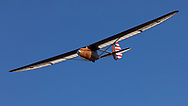 Bowlus Baby Albatross landing at Ken Jernstedt Airfield.