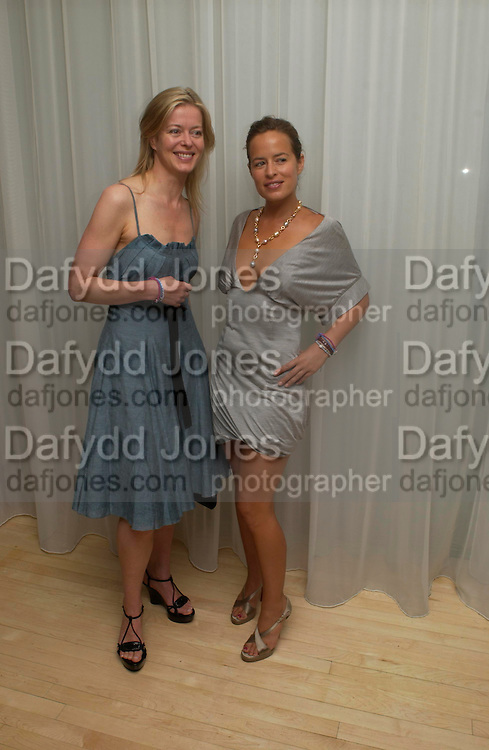 Lady Helen Taylor and Jade Jagger. An evening in aid of cancer charity Clic Sargent held at the Sanderson Hotel, Berners Street, London on 4th July 2005ONE TIME USE ONLY - DO NOT ARCHIVE  © Copyright Photograph by Dafydd Jones 66 Stockwell Park Rd. London SW9 0DA Tel 020 7733 0108 www.dafjones.com