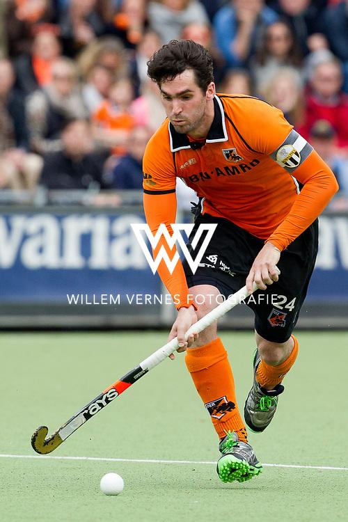 Eindhoven - OZ - HGC Heren, Hoofdklasse Hockey Heren, Seizoen 2015-2016, 30-04-2016, OZ - HGC, Robert van der Horst.