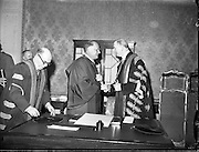 Conferring of Honorary Degrees on Bodkin, Longford, and Moyne..17.02.1961