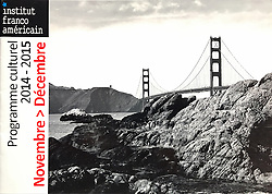 Golden Gate, French American Institute Program Cover, 2014.