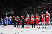 Inno Euroleague, AX ARMANI EXCHANGE OLIMPIA MILANO vs STELLA ROSSA MTS BELGRADO, EuroLeague 2017/2018, Mediolanum Forum Assago Milano 29 dicembre 2017 - foto BERTANI/Ciamillo