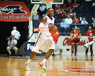 "Ole Miss' Dundrecous Nelson (5) vs. Louisiana Monroe at the C.M. ""Tad"" Smith Coliseum in Oxford, Miss. on Friday, November 11, 2011. Ole Miss won 60-38 in the season opener."