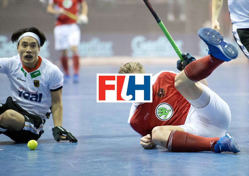 BERLIN - Indoor Hockey World Cup<br /> Final: Germany - Austria<br /> foto: Michael K&ouml;rper <br /> WORLDSPORTPICS COPYRIGHT FRANK UIJLENBROEK