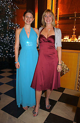 Left to right, EMMA WHITELEY BBC Radio 2 Chaoir Girl of the Year 2006 and her mother LIZ WHITELEY at Carols from Christmas - a celebration of Christmas held at the Royal Hospital Chapel, Chelsea, London in aid of The Institute of Cancer Research on 5th December 2006.<br /><br />NON EXCLUSIVE - WORLD RIGHTS