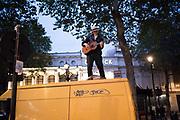Busker near charing Cross Rd. London, 12 September 2018