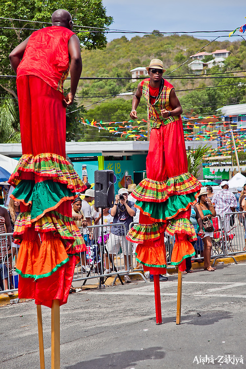 BVI Sky Dancers St. John Carnival 2012 © Aisha-Zakiya Boyd