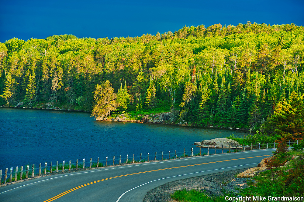Blindfold Lake and Highway 71<br />Kenora DIstrict<br />Ontario<br />Canada