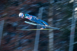 06.01.2015, Paul Ausserleitner Schanze, Bischofshofen, AUT, FIS Ski Sprung Weltcup, 63. Vierschanzentournee, Probedurchgang, im Bild Johann Andre Forfang (NOR) // Johann Andre Forfang of Norway soars trought the air during his Trial Jump for the 63rd Four Hills Tournament of FIS Ski Jumping World Cup at the Paul Ausserleitner Schanze, Bischofshofen, Austria on 2015/01/06. EXPA Pictures © 2015, PhotoCredit: EXPA/ Johann Groder
