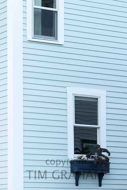 Traditional clapboard home in Newport, Rhode Island, USA