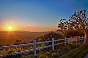 Sunrise Over Orange County California