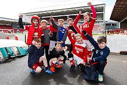Birthday Parties - Mandatory byline: Rogan Thomson/JMP - 30/04/2016 - FOOTBALL - Ashton Gate Stadium - Bristol, England - Bristol City v Huddersfield Town - Sky Bet Championship.