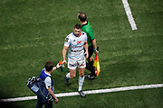 Remi Tales (Racing Metro 92) received a yellow card and left the game during the French Championship Top 14 Rugby Union match between Racing 92 and Stade Toulousain on December 22, 2017 at U Arena in Nanterre, France - Photo Stephane Allaman / ProSportsImages / DPPI