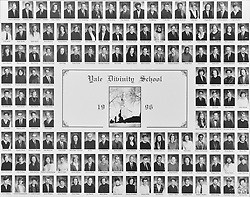 1996 Yale Divinity School Senior Portrait Class Group Photograph