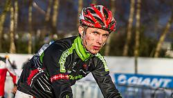 Kenneth HANSEN (70,DEN) after the race at Men UCI CX World Championships - Hoogerheide, The Netherlands - 2nd February 2014 - Photo by Pim Nijland / Peloton Photos