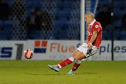 Bristol City's Adam El-Abd - Photo mandatory by-line: Dougie Allward/JMP - Mobile: 07966 386802 - 08/11/2014 - SPORT - Football - Gillingham - Priestfield Stadium - Gillingham v Bristol City - FA Cup - Round One