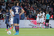 Ronny RODELIN (SM Caen) scored a goal, celebration during the French Championship Ligue 1 football match between Paris Saint-Germain and SM Caen on May 20, 2017 at Parc des Princes stadium in Paris, France - Photo Stephane Allaman / ProSportsImages / DPPI