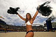 Football-FIFA Beach Soccer World Cup 2006 - Group B- Iran - Spain, Beachsoccer World Cup 2006. Beach Soccer's girl   - Rio de Janeiro - Brazil 05/11/2006. Mandatory credit: FIFA/ Manuel Queimadelos