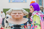 Gryason Perry and The Queen by John Humphreys, £132,000  - Royal Academy celebrates its 250th Summer Exhibition, and to mark this momentous occasion, the exhibition is co-ordinated by Grayson Perry RA.