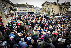 © Licensed to London News Pictures. 26/12/2014. Heythrop Hunt on Boxing Day in Chipping Norton Oxfordshire. Photo credit : MARK HEMSWORTH/LNP