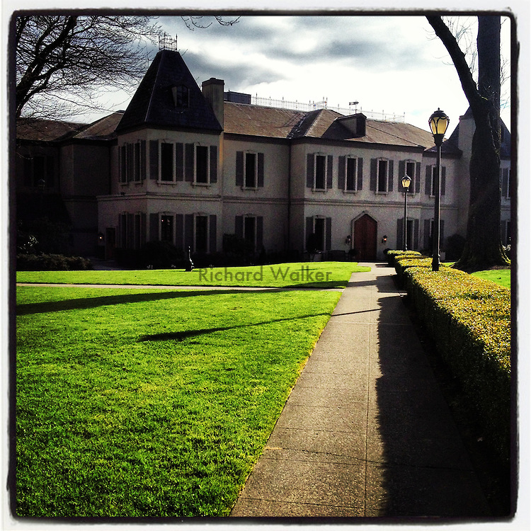 2013 February 08 - Chateau Ste Michelle winery, Woodinville, WA, USA. Taken/edited with Instagram App for iPhone. By Richard Walker