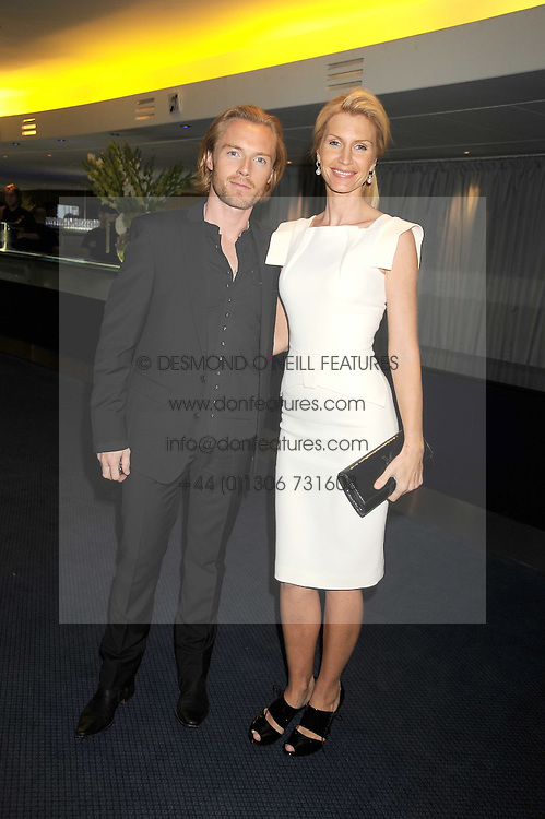 RONAN KEATING and his wife YVONNE at the GQ Men of the Year Awards held at the Royal Opera House, London on 2nd September 2008.<br /> <br /> NON EXCLUSIVE - WORLD RIGHTS