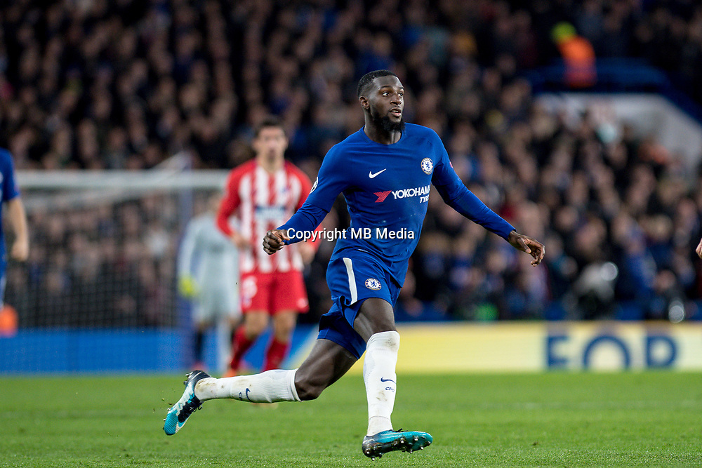 LONDON,ENGLAND - DECEMBER 05: Chelsea (14) Tiémoué Bakayoko during the UEFA Champions League group C match between Chelsea FC and Atletico Madrid at Stamford Bridge on December 5, 2017 in London, United Kingdom.  <br /> ( Photo by Sebastian Frej / MB Media )