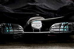 October 6, 2018 - Suzuka, Japan - Motorsports: FIA Formula One World Championship 2018, Grand Prix of Japan, .World Championship 2018 Grand Prix Japan#44 Lewis Hamilton (GBR, Mercedes AMG Petronas F1 Team),   Frintwing of f1 car  (Credit Image: © Hoch Zwei via ZUMA Wire)