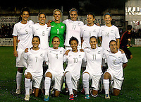 Fifa Womans World Cup Canada 2015 - Preview //  Friendly Match -<br /> Spain vs New Zealand 0-0  ( Municipal Stadium - La Roda , Spain ) <br /> Team of New Zealand, pose prior the Friendly Match : From the left up :<br /> Abby Erceg ,Rebekah Stott ,Erin Nayler ,Hannah Wilkinson ,Amber Hearn ,Katie Bowen //<br /> Ali Riley ,Katie Hoyle ,Sarah Gregorius ,Kirsty Yallop ,Annalie Longo