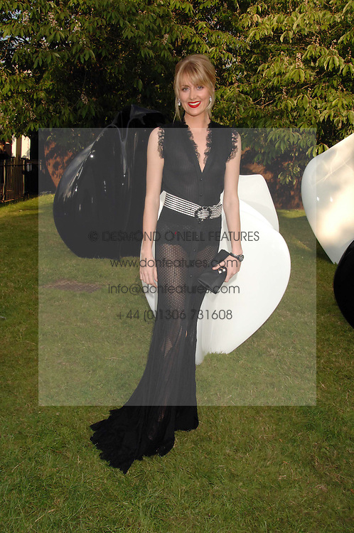 LADY EMILY COMPTON at the annual Serpentine Gallery Summer Party in association with Swarovski held at the gallery, Kensington Gardens, London on 11th July 2007.<br /><br />NON EXCLUSIVE - WORLD RIGHTS