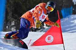 Europa Cup Finals Banked Slalom, ZABALA EGANA Oier, ESP at the 2016 IPC Snowboard Europa Cup Finals and World Cup