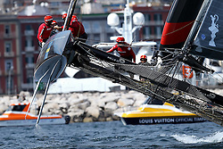 17.04.2013, Neapel, ITA, Americas Cup World Series 2013, im Bild Artemis (SWE) // during Americas Cup World Series 2013 Napoli, Italy on 2013/04/17. EXPA Pictures © 2013, PhotoCredit: EXPA/ Insidefoto/ Matteo Ciambelli ***** ATTENTION - for AUT, SLO, CRO, SRB, BIH and SWE only *****