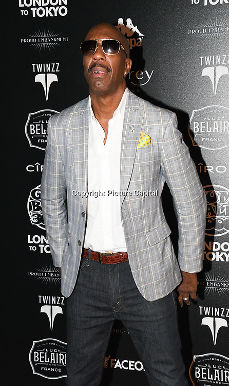 J. B. Smoove attend the Official launch party for the annual Gumball 3000 Rally took place at Proud Embankment on August 4 2018, London, UK.