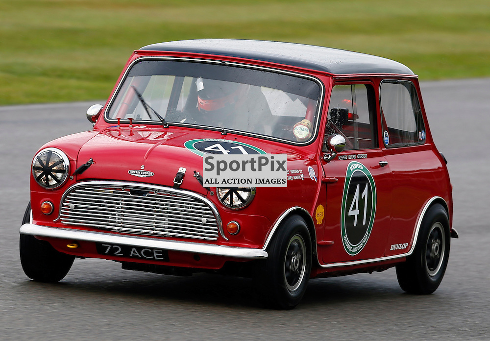 GOODWOOD REVIVAL....James Martin during qualifying for the weekend races...(c) STEPHEN LAWSON | SportPix.org.uk