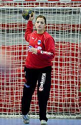Branka Zec at Women European Championships Qualifying handball match between National Teams of Slovenia and Belarus, on October 17, 2009, in Kodeljevo, Ljubljana.  (Photo by Vid Ponikvar / Sportida)