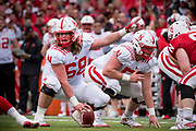 Omaha, NE - April 21:  during their annual Red White game in Lincoln Nebraska April 21, 2018. Photo by Eric Francis