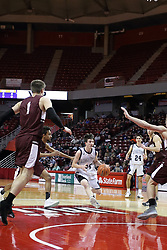 6 March 2018: IHSA Super Sectional Boys Basketball game between the Ridgeview Mustangs and the Annawan Braves at Redbird Arena in Normal