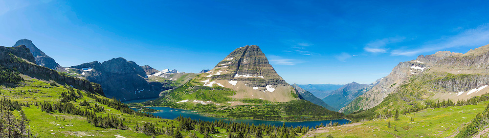 Hidden Lake, Glacier National Park.
