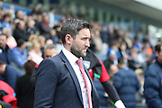 Bristol City Manager Lee Johnson during the Sky Bet Championship match between Blackburn Rovers and Bristol City at Ewood Park, Blackburn, England on 23 April 2016. Photo by Pete Burns.