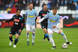 "Foto LaPresse/Filippo Rubin<br /> 12/05/2019 Ferrara (Italia)<br /> Sport Calcio<br /> Spal - Napoli - Campionato di calcio Serie A 2018/2019 - Stadio ""Paolo Mazza""<br /> Nella foto: ALESSANDRO MURGIA (SPAL)<br /> <br /> Photo LaPresse/Filippo Rubin<br /> May 12, 2019 Ferrara (Italy)<br /> Sport Soccer<br /> Spal vs Napoli - Italian Football Championship League A 2018/2019 - ""Paolo Mazza"" Stadium <br /> In the pic: ALESSANDRO MURGIA (SPAL)"