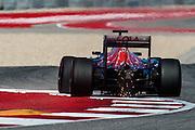October 21, 2016: United States Grand Prix. Daniil Kvyat, (RUS), Scuderia Toro Rosso