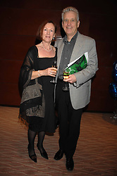 News reader NICHOLAS OWEN and his wife BRENDA at an exhibition of artist Alan Halliday's work in support of the English National Ballet held at the Intercontinental Hotel, Park Lane, London on 9th March 2007.<br /><br />NON EXCLUSIVE - WORLD RIGHTS