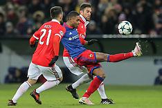 CSKA vs Benfica, 22 Nov 2017