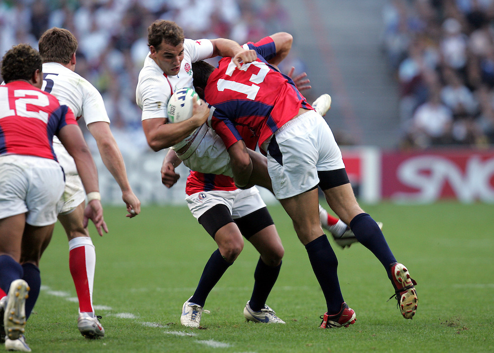 England v USA, Game 4, Rugby World Cup 2007, Lens, France, 8th September 2007... ..