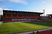 A general view inside Oakwell Stadium before the EFL Sky Bet Championship match between Barnsley and Queens Park Rangers at Oakwell, Barnsley, England on 14 December 2019.