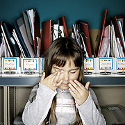 Isabella Chavez. Casey Brennan's kindergarten class at Hopkins Elementary School in Sherwood on Wednesday, May 23, 2012.